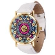 Geneva fashion horloge Ibiza White