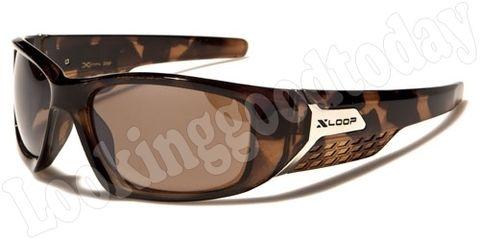 Xloop sport zonnebril Brown