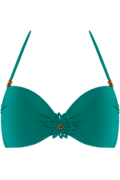 la flor push up | wired padded green - 85C
