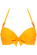papillon push up | wired padded eye-popping orange - 80C
