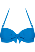 papillon plunge balconette | wired padded bright blue - 85E