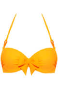 papillon plunge balconette | wired padded eye-popping orange - 80C