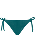 holi gypsy tie and bow slip | sparkling teal green - L