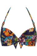 jardin des fleurs push up | wired padded floral - 70D