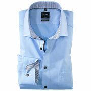 OLYMP overhemd Modern Fit 125224 in het Blauw