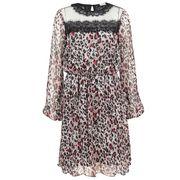 Liu Jo jurk w68-032 in het Licht Bruin
