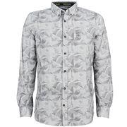Tom Tailor overhemd Tailored Fit 1005380 in het Grijs