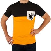 COPA Football - Holland Pocket T-Shirt - Orange - Black