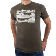 Spielraum - Maracana Stadion T-Shirt - Groen