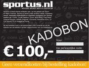Sportus.nl - Sportus Kadobon 100 EURO