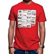 COPA Football - Dugouts T-shirt - Red