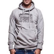 COPA Football - Ludus Quem Itali Hooded Sweater - Grijs