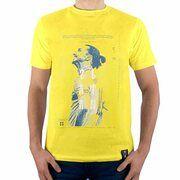 Sucker for Soccer - Zlatan Ibrahimovic T-Shirt - Geel
