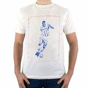 Sucker for Soccer - Ronaldo T-Shirt - Wit