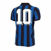 F.C. Internazionale Retro Voetbalshirt 1986-1987 + Nummer 10