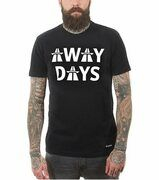 COPA Football - Away Days T-shirt - Zwart