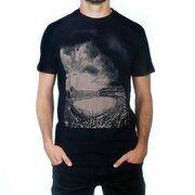 COPA Football - Bombonera Clouds T-Shirt - Zwart