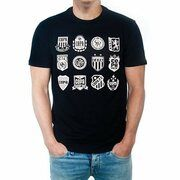 COPA Football - Crests T-Shirt - Zwart