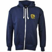 TOFFS - England Rugby 6 Nations Gold Rose Zipped Hoodie - Navy