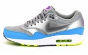 Nike Air Max 1 FB Metallic Silver Current Blue 579920-004