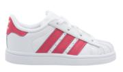 Adidas Superstar kids CQ2858 Wit Roze