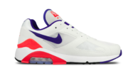 Nike Air Max 180 AH6786-100 Wit / Blauw -37.5