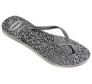 Havaianas-Slippers-Flipflops Slim Animals-Grijs