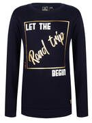 Indian Blue Jeans Indian Blue Jeans Sweater Crewneck Road Trip IBG22-4008