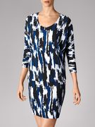 Beach Camouflage Dress - 8549 - XS