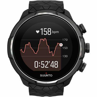 9 Baro Titanium Black Horloge
