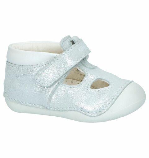 Zilveren Babyschoentjes Geox