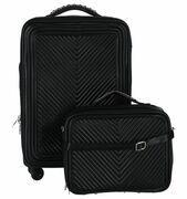 Zwarte Olivia Lauren Chicago Handbagage