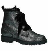 Zilveren Boots Rits/Veter Clic