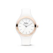 Colori Horloge 'Macaron' wit-rosekleurig 5-COL430