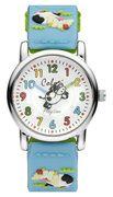 Colori 5-CLK067 - Horloge - Nylon - Blauw  - 28 mm