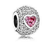 Pandora bedel zilver 'Captivating Heart' 791815CZS