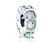 Pandora Spacer Bedel zilver 'Clear Cubic Zirconia' 792027CZ