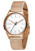 Esprit Horloge Essential staal 34 mm roskleurig ES1L034M0085