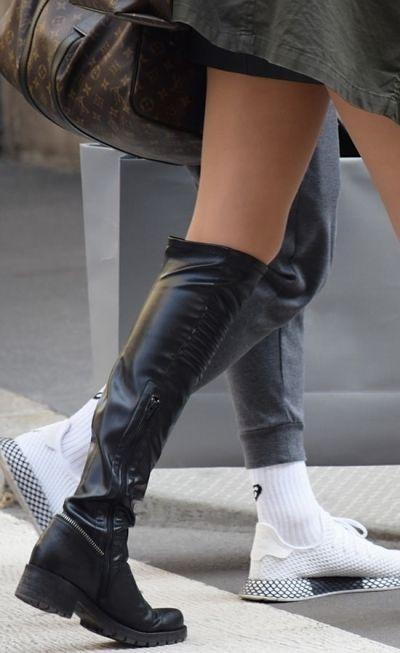 Overknee boots: hoe draag je overknee laarzen?