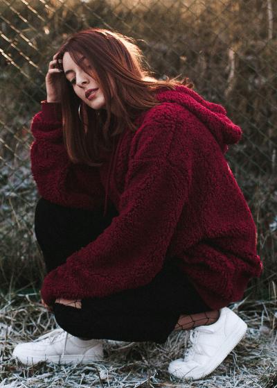 5 trendy manieren om je fleece trui te combineren