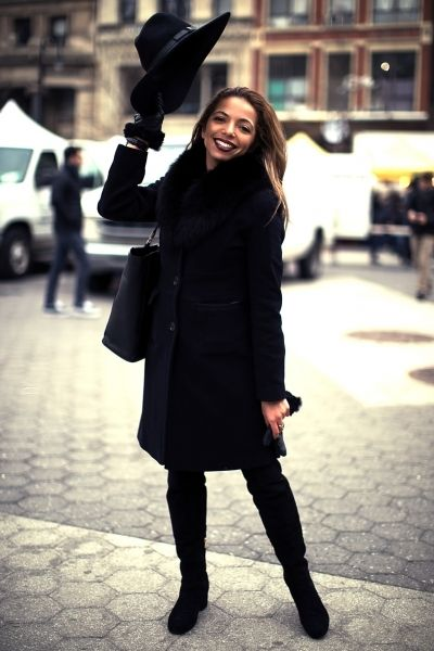 How to style: zwart op zwart