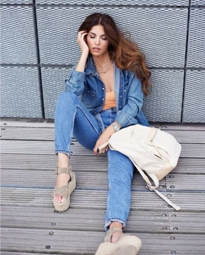 Get the look: Denim on denim