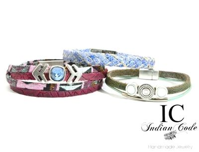 WIN: 3 x handmade armbandje van Indian Code