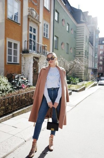 Get the look: Ruffles & jeans