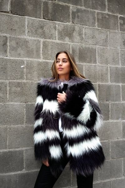 Get the look: Fuzzy Fur!