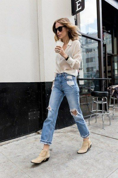 Get the look: Back to basic