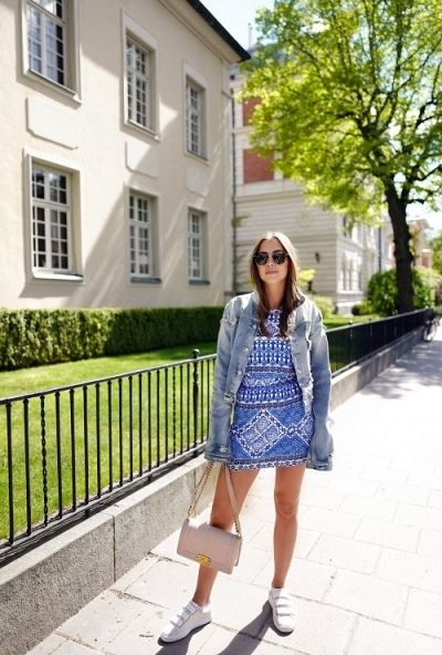 Get the look: Blue dress