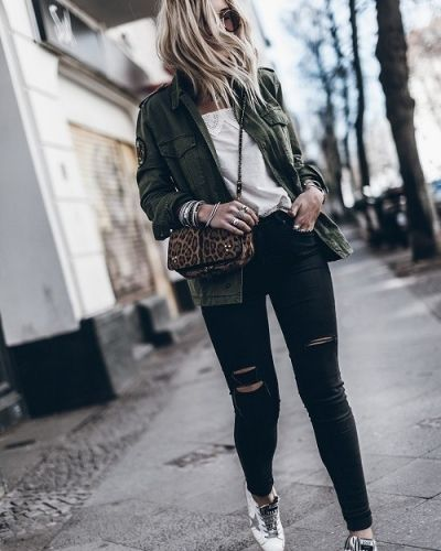 Get the look: Military jacket