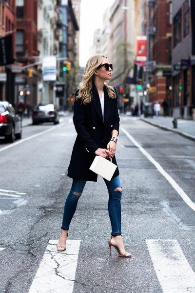 Get the look: Long blazer