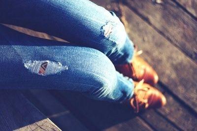 DIY: Ripped jeans maken